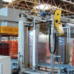 Tecnologie per imballaggio manufatti in calcestruzzo